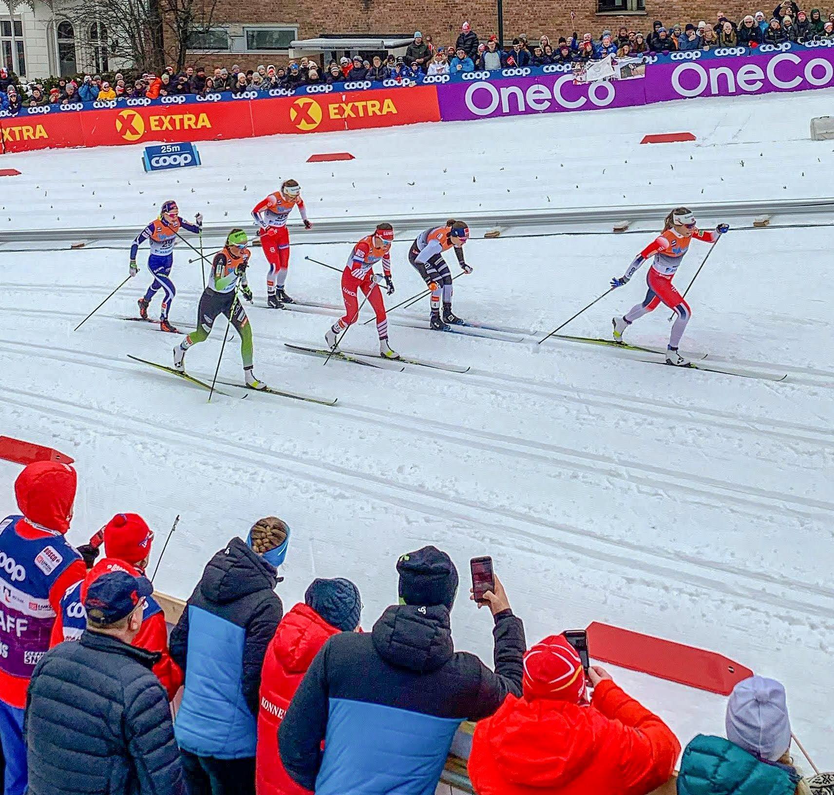 RITC på skisprint i Drammen