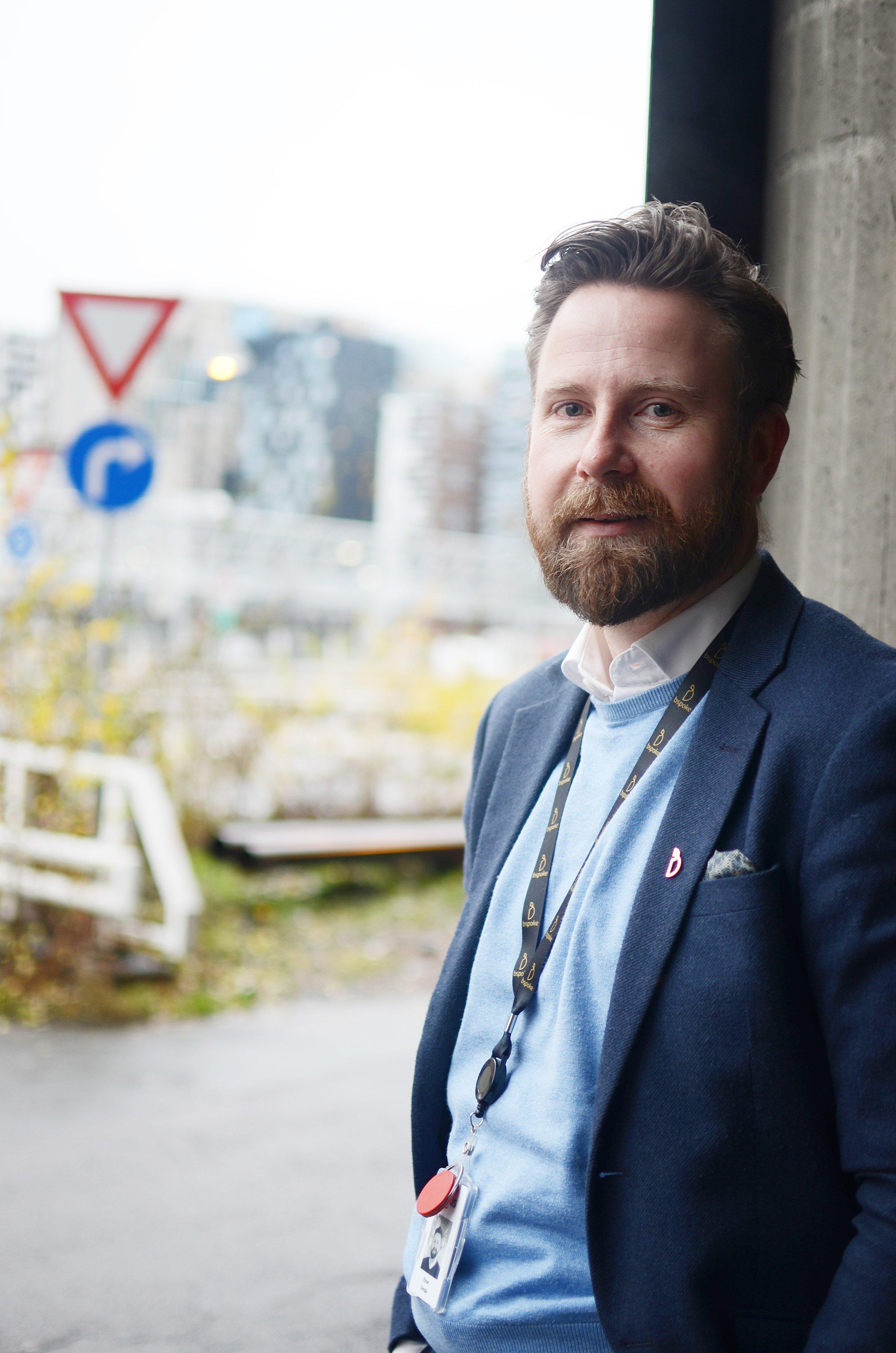 Einar Omdal insisterer på at alt bspoke gjør er en del av rekrutteringsstrategien til selskapet.