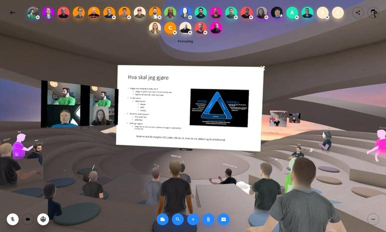 Firmadag i VR