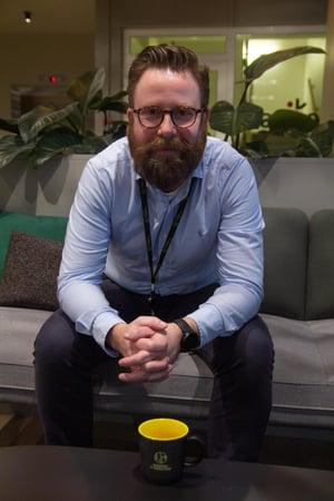 Konsulent Einar Omdal i RITC