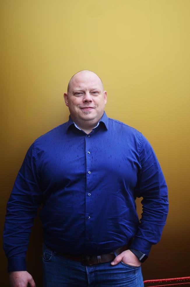 EVENTYRLYSTEN: Jarle Adolfsen kan over 20 programmeringsspråk, er partner og ekspertutvikler i bspoke.