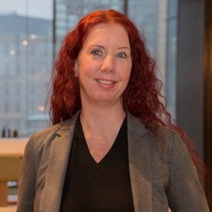 Prosjektleder og fagansvarlig Linda Lågstad