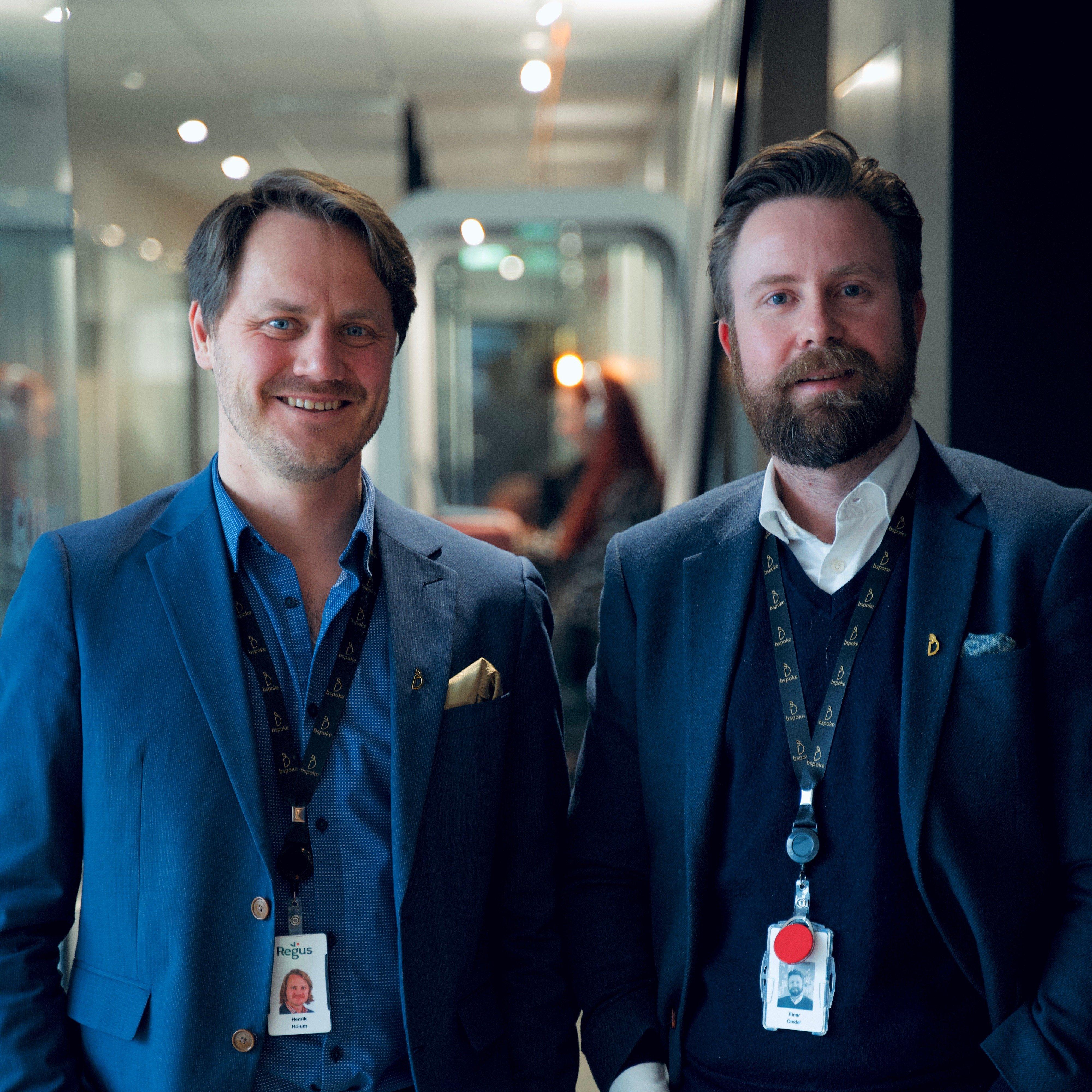 Henrik Holum (daglig leder) og Einar Omdal (COO) brenner for å bygge en arbeidsplass med de ansatte i sentrum. De mener dette på sikt også vil være positivt for kundene.